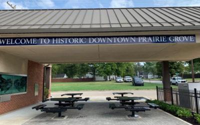 Arvest Pavilion Opens in Prairie Grove