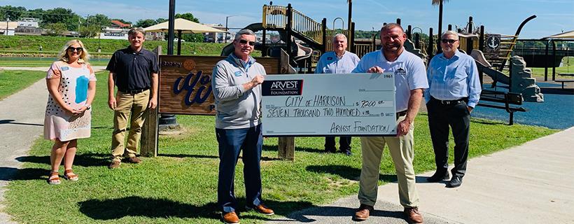 Arvest Foundation Grant to Benefit Wonder Willa Park