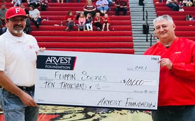 Arvest Foundation Delivers Grants in North Central Arkansas