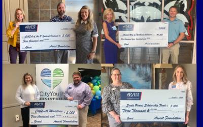 Arvest Foundation Awards $19,500 in Grants to Jonesboro Organizations