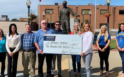 Arvest Foundation Grant to Help Veterans